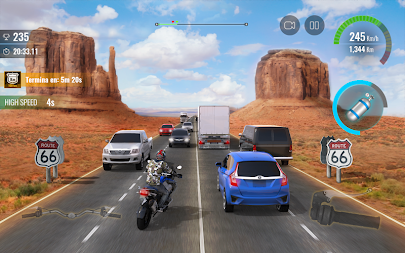Moto Traffic Race 2: Multiplayer APK screenshot thumbnail 3