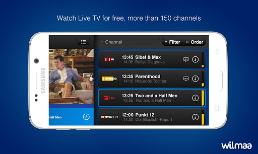 Wilmaa TV 6.12.0 screenshots 1
