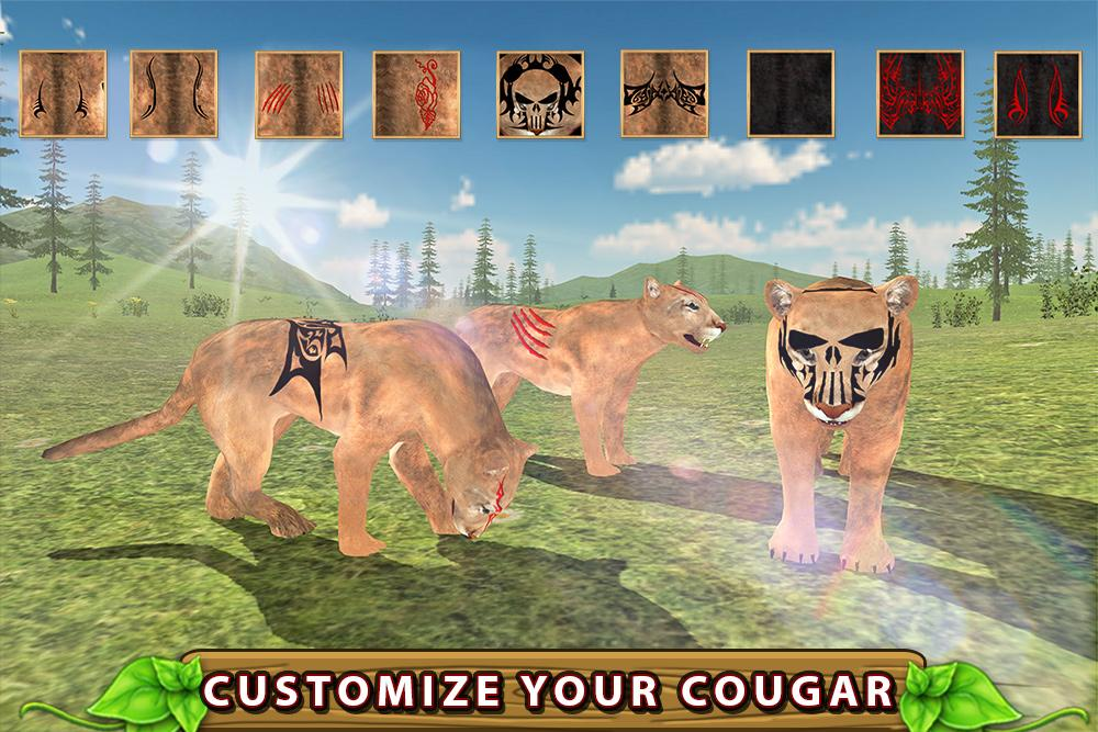 Furious Cougar Simulator- screenshot