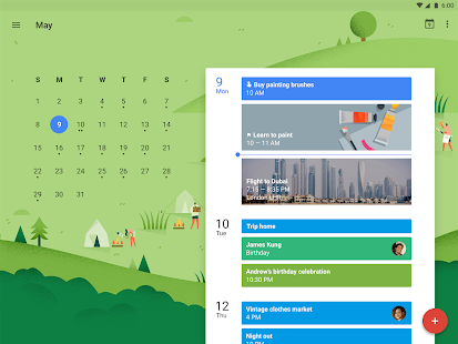 Google Kalender- gambar mini screenshot