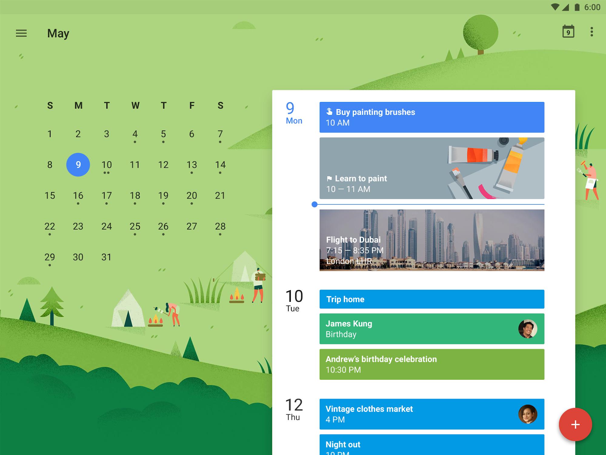 Google Calendar screenshot #6