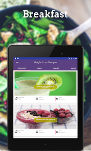 Healthy Recipes: Weight Loss- screenshot thumbnail