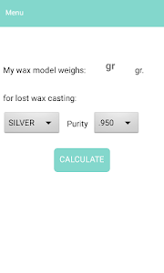 Jewelry Calculator screenshot 1