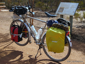 Photo: Surly Long Haul Trucker at the Shire of Kondinin - Shire of Dundas Boundary - The Granite and Woodlands Discovery Trail