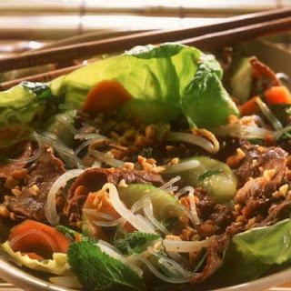 Southeast Asian Steak Salad Bowl