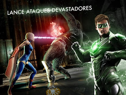 Injustice 2: miniatura da captura de tela