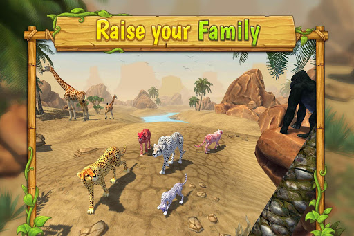 Cheetah Family Sim - Animal Simulator androidiapk screenshots 1