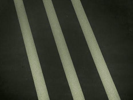 Efterlysande kontrastlinjer för golvmarkering ränder 3st x25mm