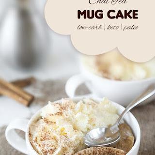Keto Chai Tea Mug Cake