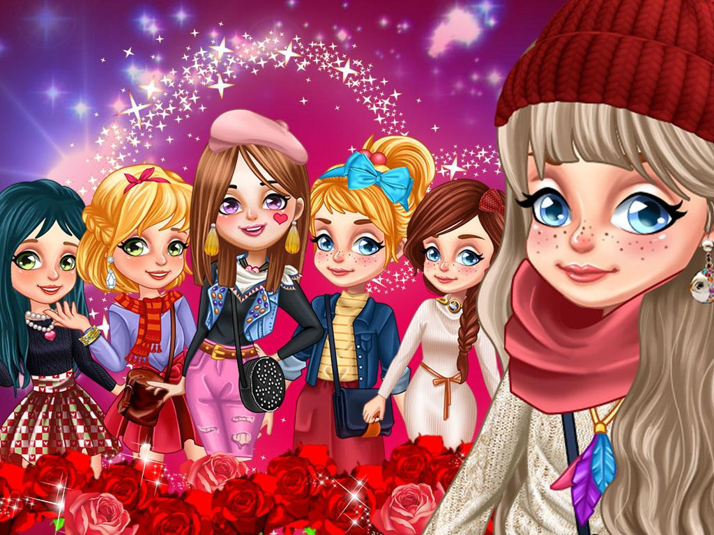 Girls' Valentine Plans- screenshot