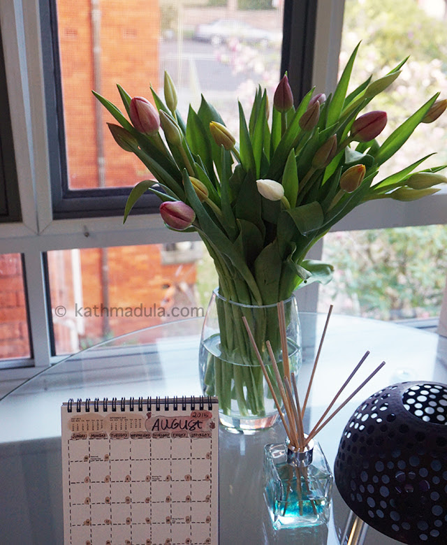 Fresh Flowers Vivid Tulips