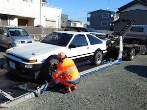 スプリンタートレノ AE86 昭和59年式GT-APEXのカスタム事例画像 おしーんさんの2021年01月10日23:16の投稿