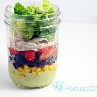 Chicken Taco Salad in a Jar