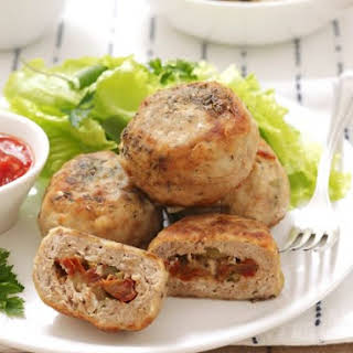 Stuffed Mediterranean Cutlets.