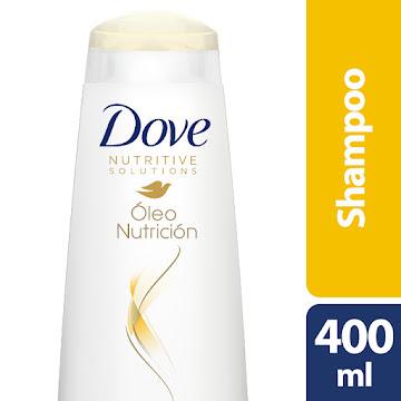 Shampoo Dove Oleo Nutricion Sin Sal X400ml