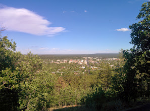 Photo: View of Flagstaff from the Lowell Observatory