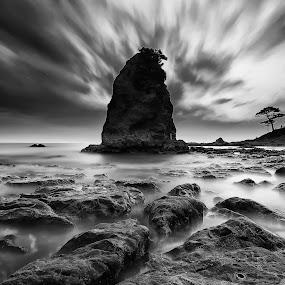 by Nurul Anwar - Black & White Landscapes