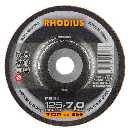 Slipskiva Aluminium Rhodius