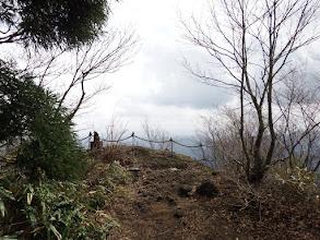 東側に岩場の展望所
