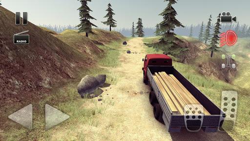 Truck Driver route folle  captures d'écran 1