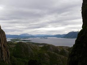 Photo: Utsikten innover fra Torghatten