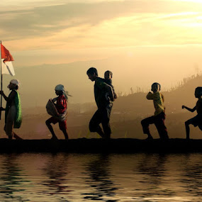 Go... Go... Go... by Budi Cc-line - People Group/Corporate ( indonesia )