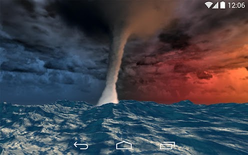 Sea Storm 3D LWP- screenshot thumbnail