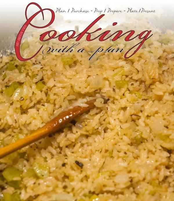 Rice Pilaf With A Cajun/creole Twist Recipe