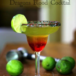 Dragon's Blood Cocktail.
