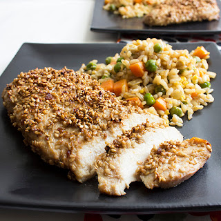 Sesame-Crusted Chicken