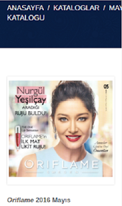 Oriflame Üye screenshot 1