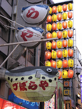 Photo: Fugu Balloon: There are a bunch of these restaurants around Osaka.