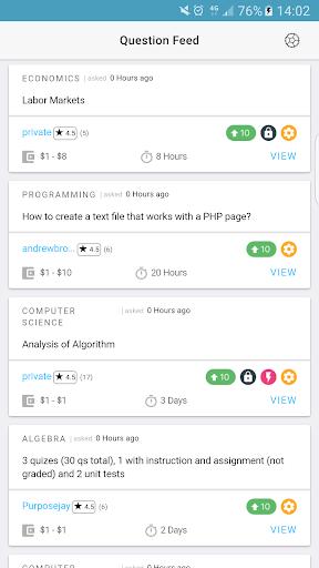 Studypool Mobile - Tutors screenshot 1
