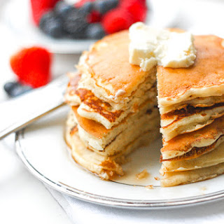 The Best Old Fashioned Pancakes.