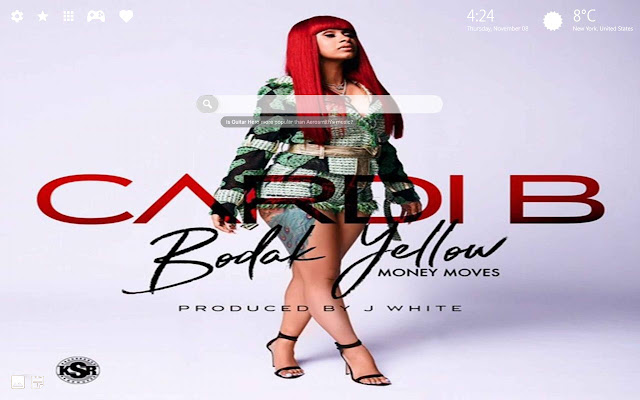 Cardi B Hd Wallpaper Theme