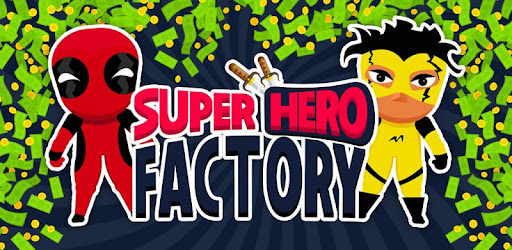 Build a factory, craft super heroes and save the world.