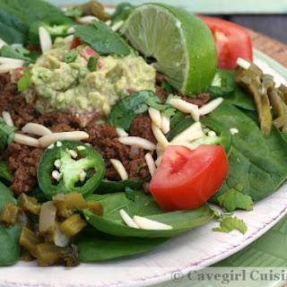 Simple Taco Salad (paleo & gluten-free).