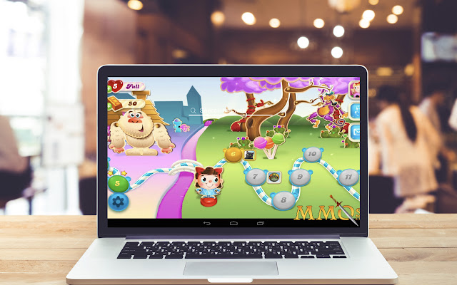 Candy Crush Soda Saga HD Wallpaper Game Theme