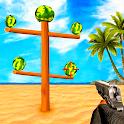 Watermelon Shooter Game - Fruit Gun Shooting icon