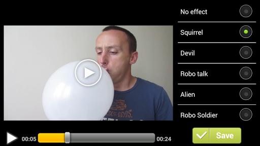 Video Voice Changer FX 1.1.5 screenshots 3