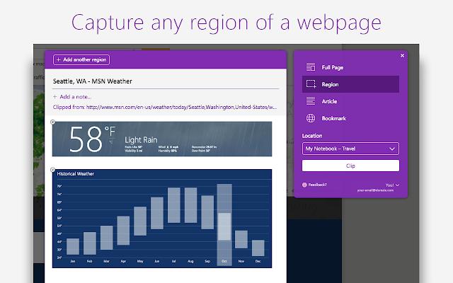 OneNote Web Clipper - Chrome Web Store