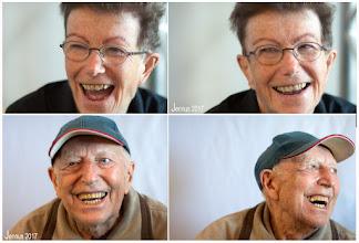 Photo: Lachen ist gesund     Herr Kleinert und Tochter
