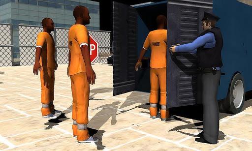 监狱罪犯面包车