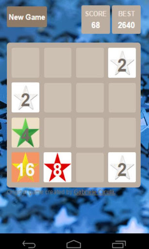 2048 with stars
