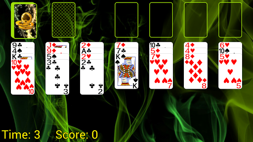 Spider Solitaire (Web rules) apkmind screenshots 1