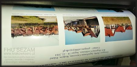 Photo: Wydruk posterów naukowych i konferencyjnych. Usługa druku realizowana na poczekaniu.