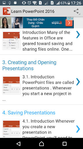 Learn PowerPoint 2016 Online screenshot 4