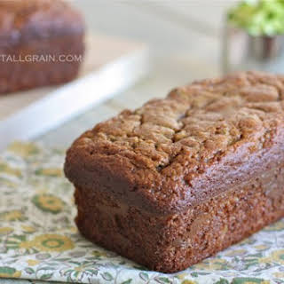 Almond Flour Zucchini Bread.