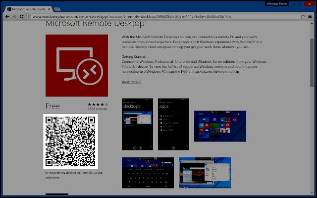 Windows Phone Store QR