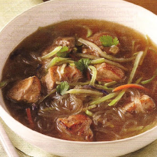Slow Cooker Five-Spice Pork Soup.